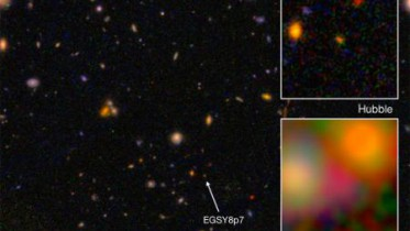 Créditos: I. Labbé (Leiden University), NASA/ESA/JPL-Caltech