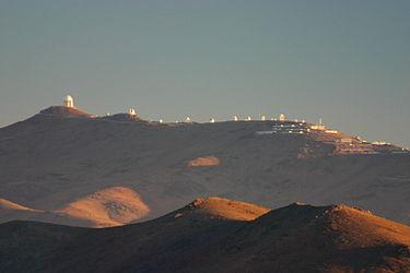 Observatorio de La Silla (ESO). Créditos: Wikipedia